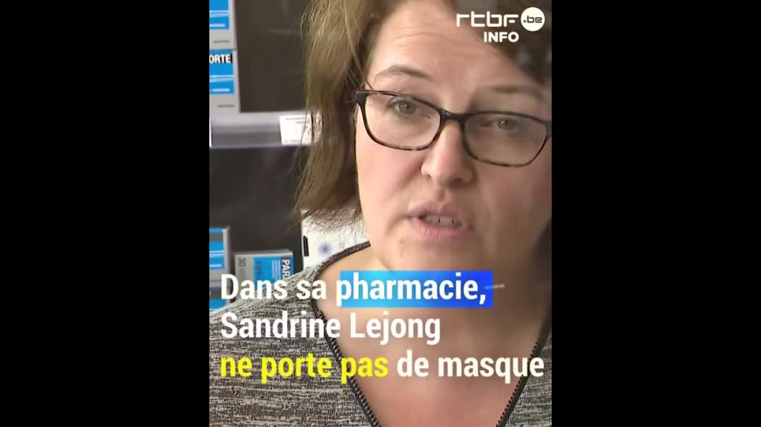 COVID19 - Une pharmacienne Belge n'impose aucun masque !